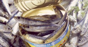 Can of Sardines --- Image by © Lawton/PhotoCuisine/Corbis